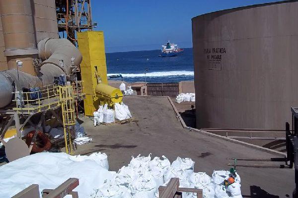 Movimentação de Catalisadores ILO Peru 2010
