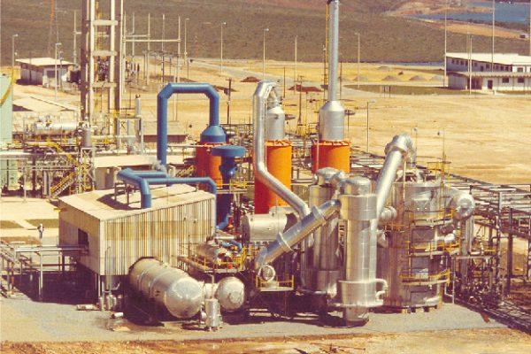 Nuclebras Poços de Caldas-MG 1982