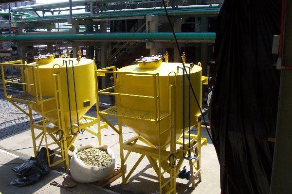 Copebras - Movimentação de Catalisadores Cubatão-SP 2006