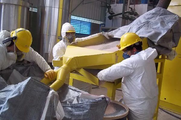 YPE Retirada de Alumina Amparo-SP 2010